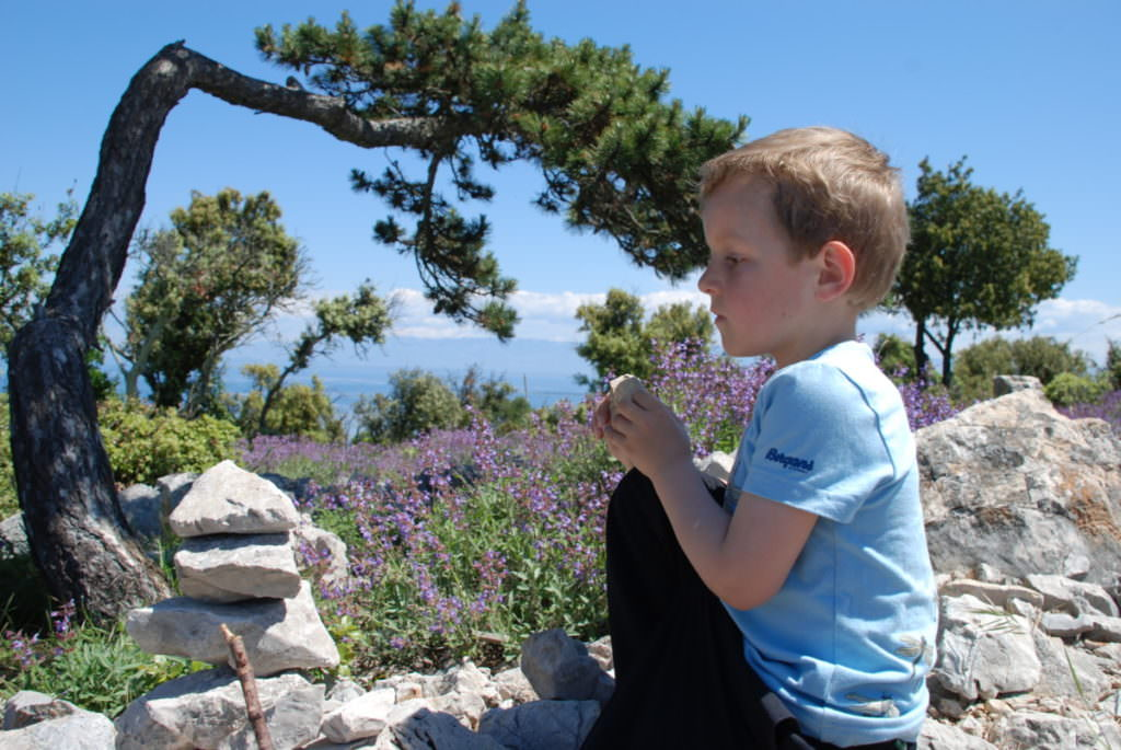 Kroatien mit Kindern - Natur und Meer