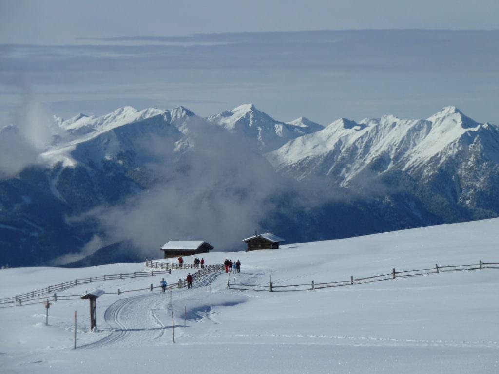 Die Lüsner Alm in Südtirol