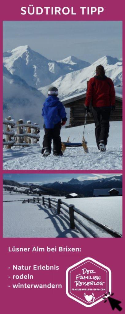 Lüsner Alm - merk dir diesen Pin auf Pinterest für deinen nächsten Winterurlaub Südtirol