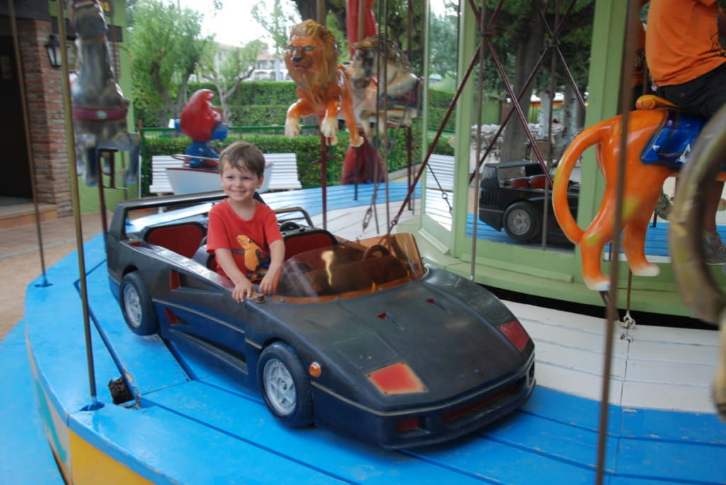 L'Estartit Spanien: Der Park Jocs für Kinder