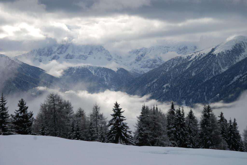 Langlaufen Südtirol - viele tolle Loipen mit Ausblick