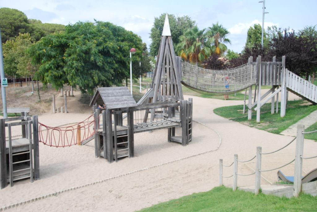 Malgrat del Mar Spielplatz - unseren Kindern hat´s gefallen