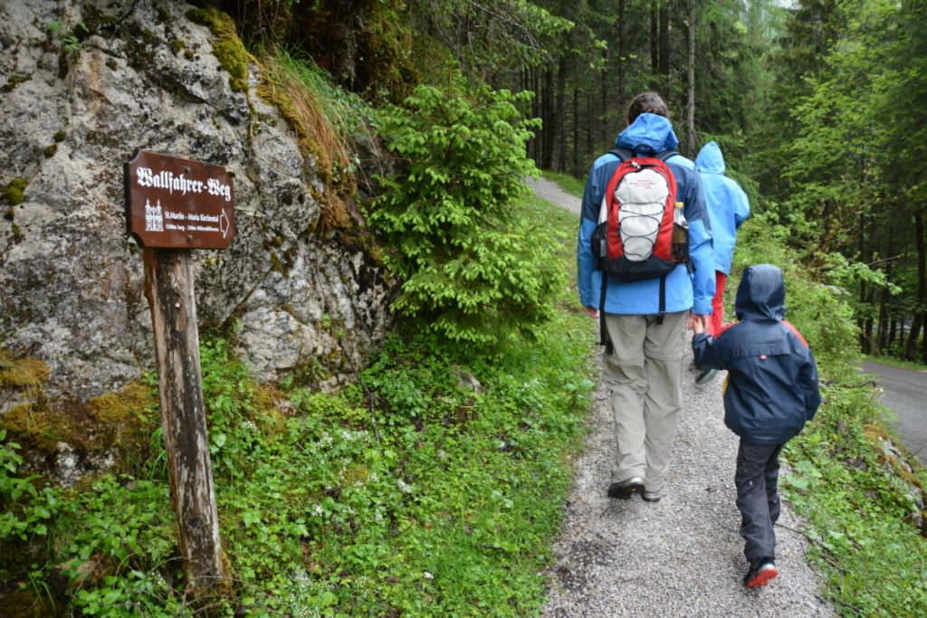 Maria Kirchental Wanderung - der Wallfahrer Weg