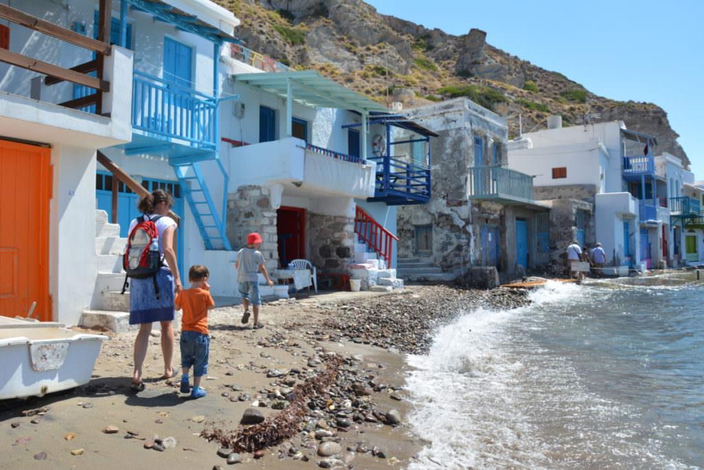 Ein besonderer Ort auf Milos Griechenland