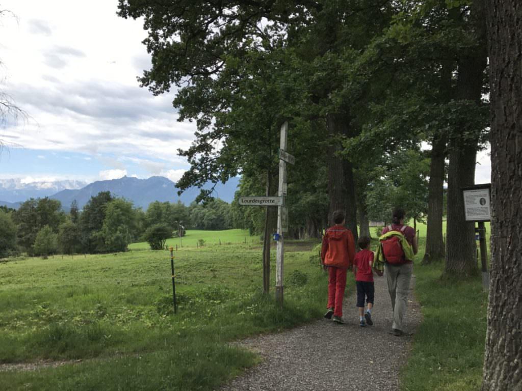 Murnau wandern mit Kindern