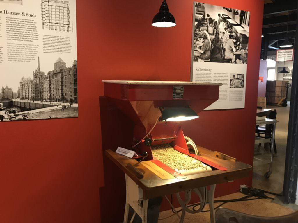 Im Museum über die Speicherstadt Hamburg