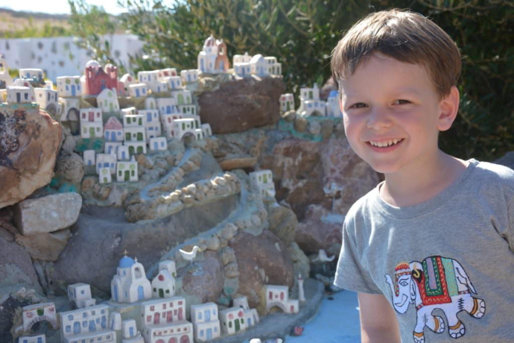 Paros Aliki - unser Besuch im Miniaturmuseum