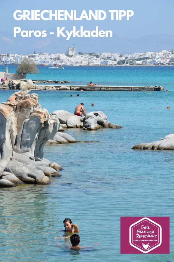 Griechenland Tipps merken - Paros Urlaub am Meer