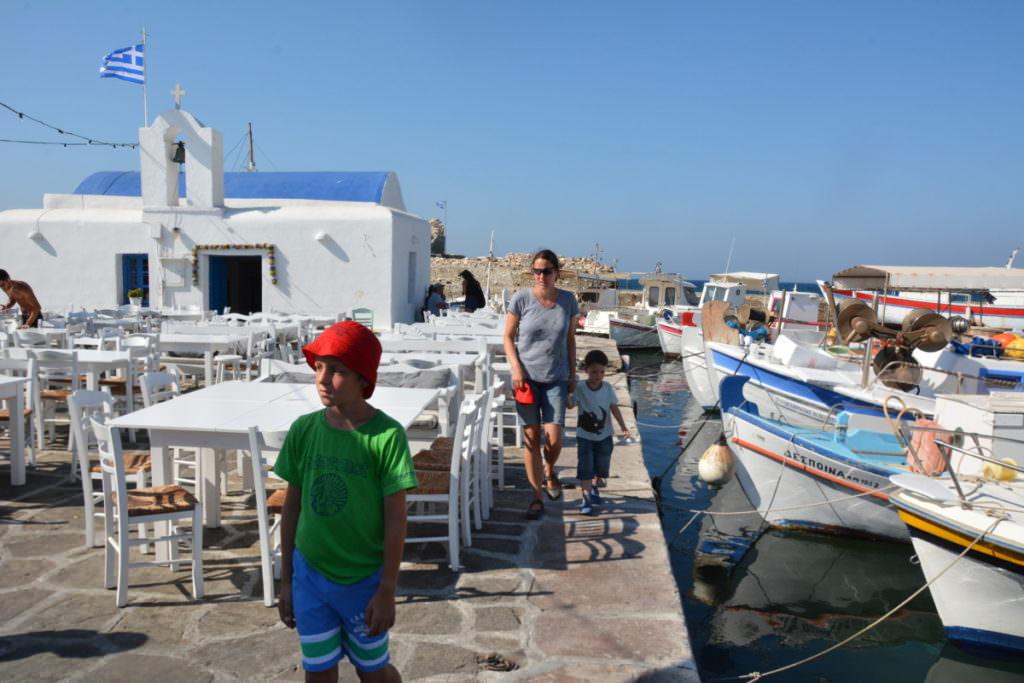 Paros Naoussa - Rundgang durch den kleinen Ort