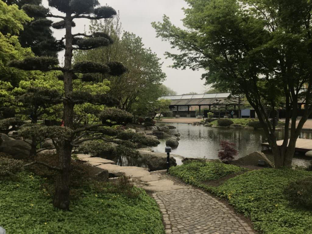 Der Japanische Garten in Planten un Blomen Hamburg