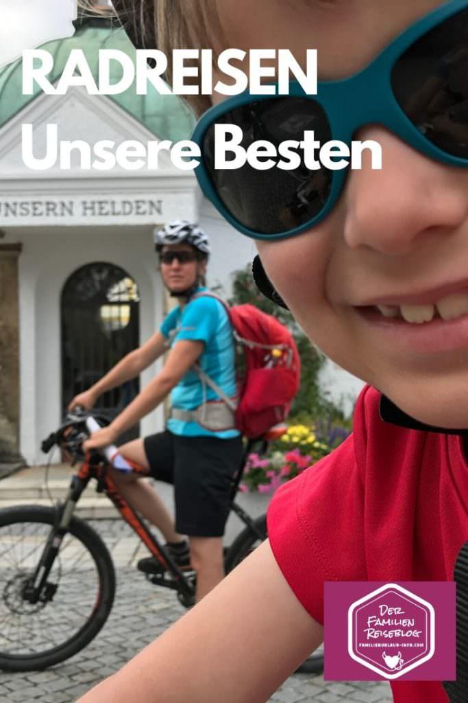 Radreisen mit Kindern in Deutschland