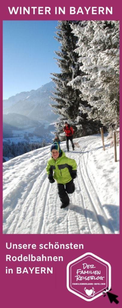 Rodelbahn Bayern - merk dir diese Tipps für deinen nächsten Winter Ausflug