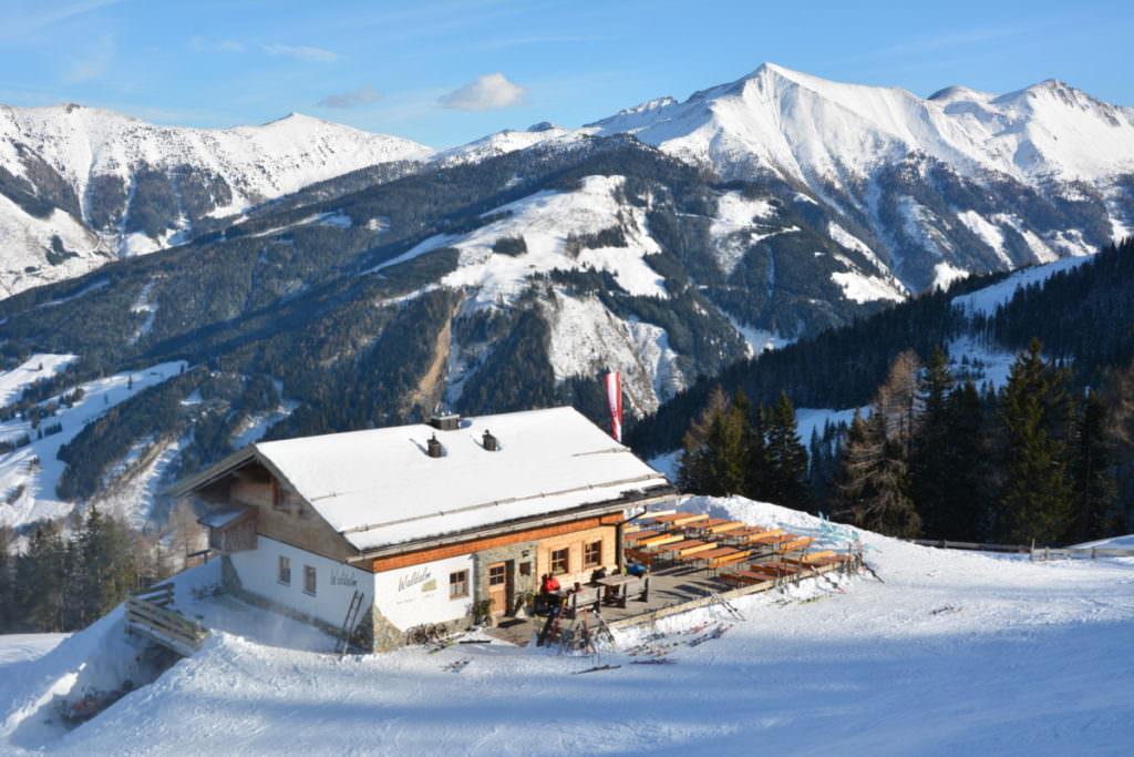 Rodelbahn Salzburger Land - in Rauris rodeln