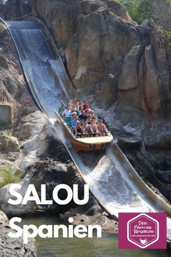 Salou Spanien mit Kindern - im Freizeitpark