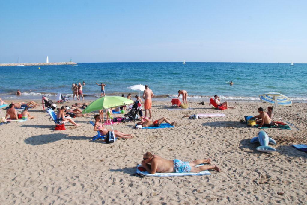 Salou Strand - mit feinem Sand
