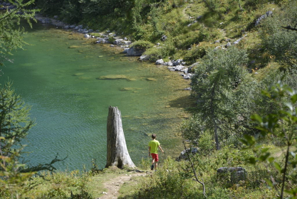 Salzkammergut Wanderung mit Kindern - zwischen Almen, Bergen und türkisgrünen Seen