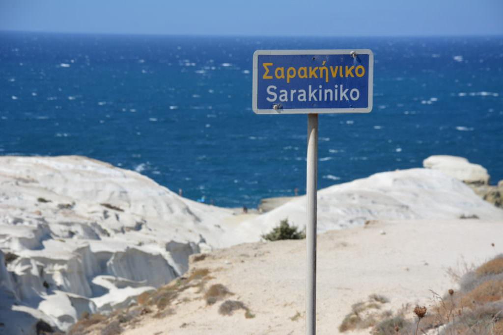 Milos Strände: Sarakiniko - Traumstrand auf Milos. Warum? Schau dir unsere Bilder an...