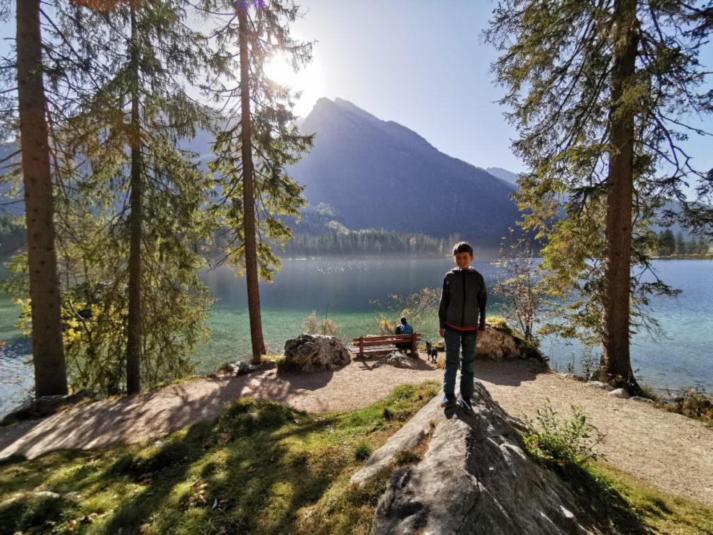 Seen Wanderung - leicht und wunderschön am Hintersee!