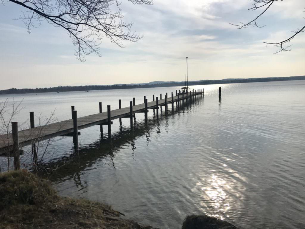Wandern am See entspannt besonders - oder?