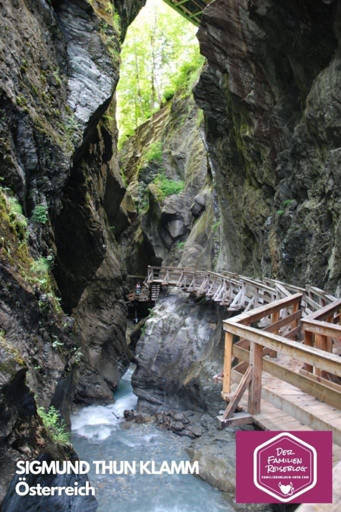 Merk dir diese Klamm für deine nächste schöne Wanderung im Salzburger Land