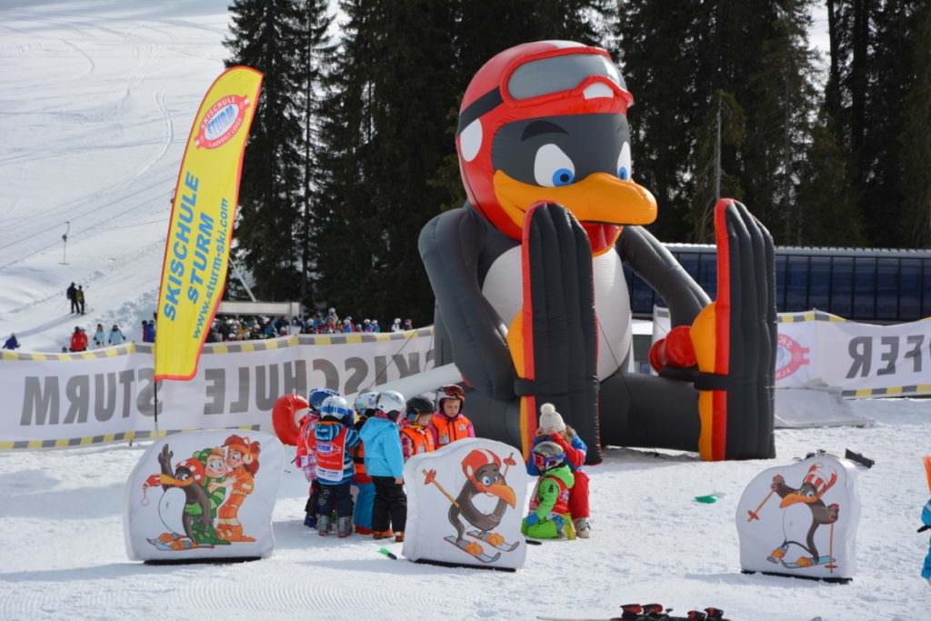 Auf der Skialm Lofer das Skifahren lernen - ganz persönlich