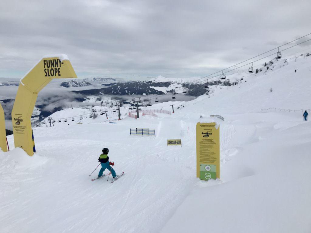 Echt cool Skifahren in Tirol mit Kindern: Am Spieljoch im Zillertal