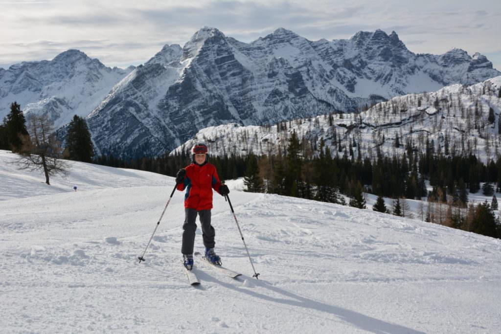 Skifahren mit Kindern im Salzburger Land: Auf der Skialm Lofer