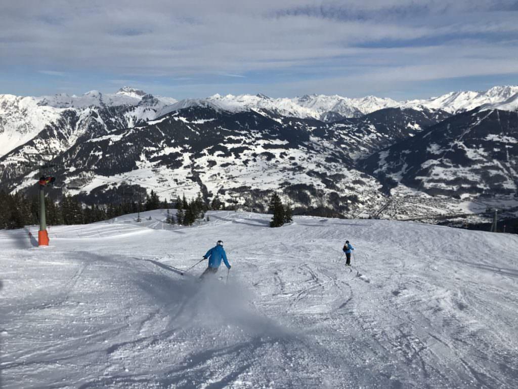 Skifahren mit Kindern in Österreich - am Golm im Montafon