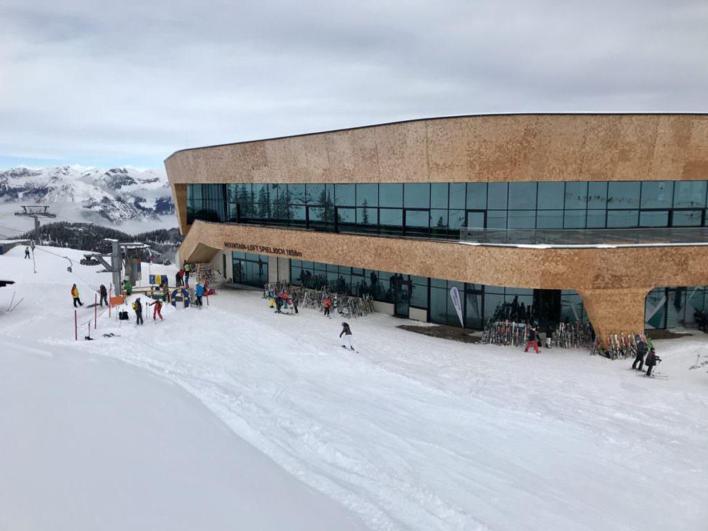 Skigebiet Fügen - das ist die neue Bergstation am Spieljoch