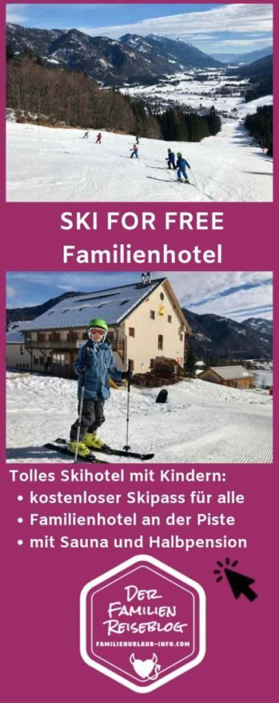 Skigebiet Kinder kostenlos in Kärnten - merk dir diesen Pin auf Pinterest, damit du diese Angebote wieder findest, wenn du deinen Urlaub planst