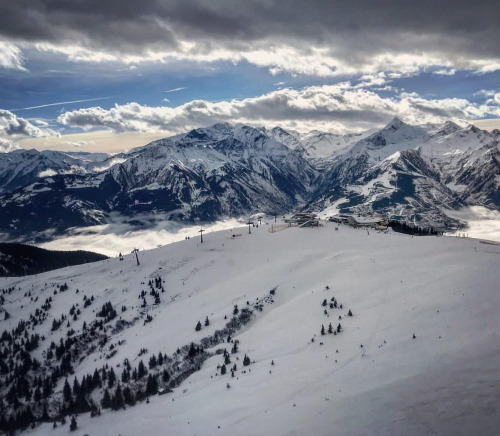 Skiurlaub mit Kindern im Salzburger Land: Auf der Schmittenhöhe