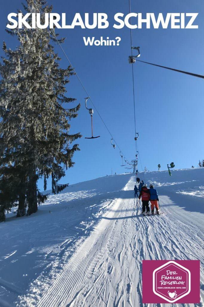 Skiurlaub Schweiz mit Kindern - unsere Tipps