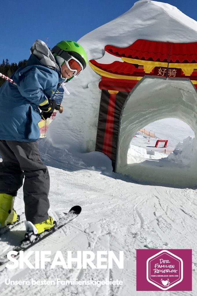 Skiurlaub mit Kindern - hier das Kinderland der Planai - merk es dir für deinen nächsten Winterurlaub, mit diesem Pin auf Pinterest