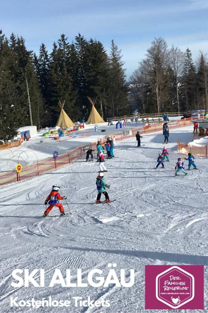Skiurlaub mit Kindern Allgäu - merk dir diesen Pin auf Pinterest, damit du diese Tipps wieder findest bei der nächsten Urlaubsplanung