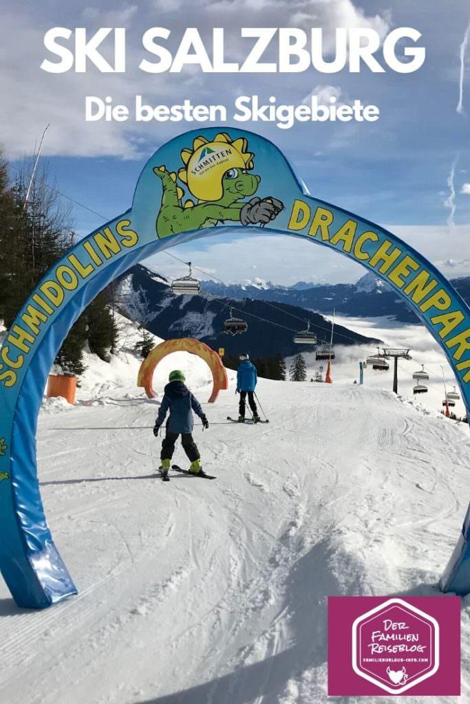 Skiurlaub mit Kindern Salzburger Land: Die Schmitttenhöhe mit Schmidolin´s Drachenpark