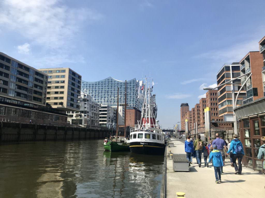 Von der Speicherstadt Hamburg in die Hafencity mit Kindern