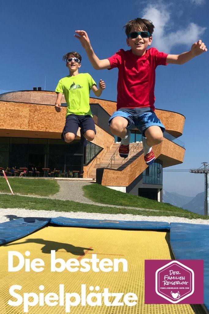 Spielplatz Tirol - merk sie dir, teil sie mit deinen Freunden per WhatsApp oder auf Facebook