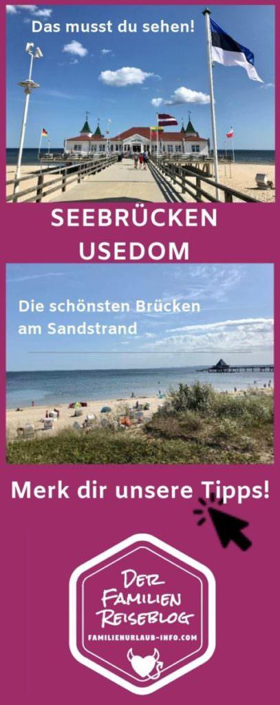Usedom mit Kindern: Wir zeigen dir die Usedom Seebrücken - von Ahlbeck bis Trassenheide