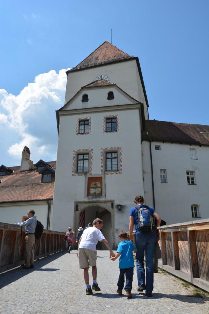 Auf die Veste Oberhaus in Passau mit Kindern wandern