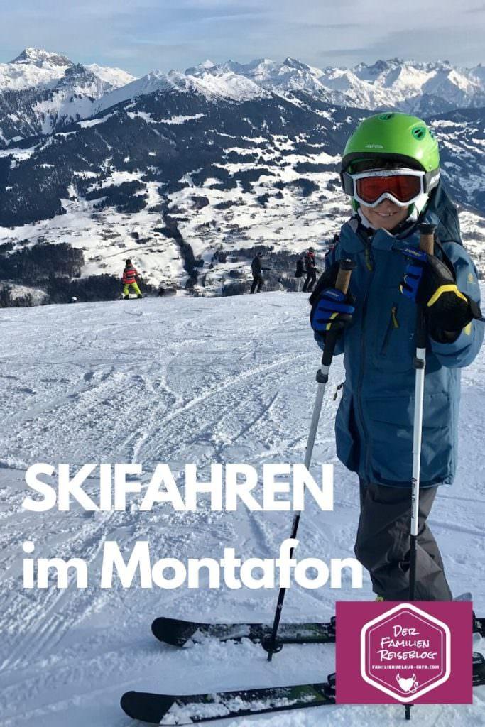 Skifahren Vorarlberg mit Kindern: Skigebiet Golm
