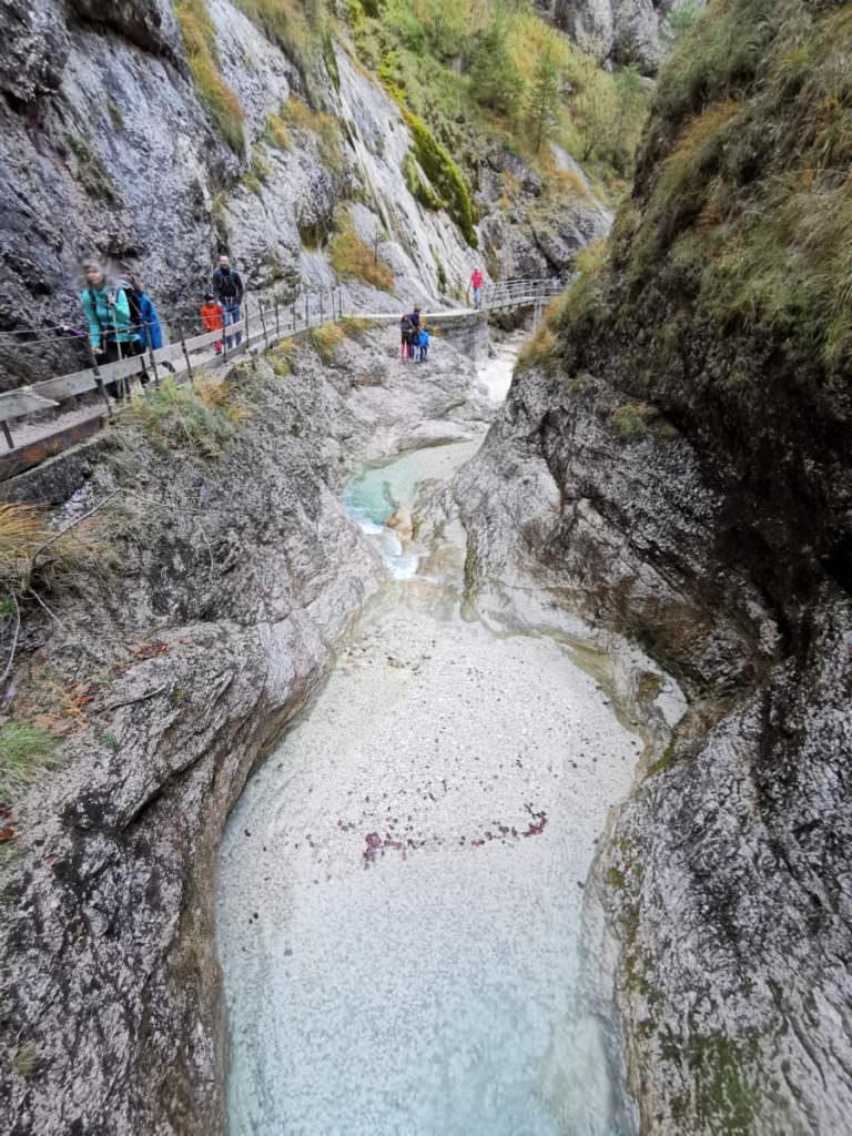 Wandern mit Kind Bayern: Im Berchtesgadener Land die Klammen besuchen