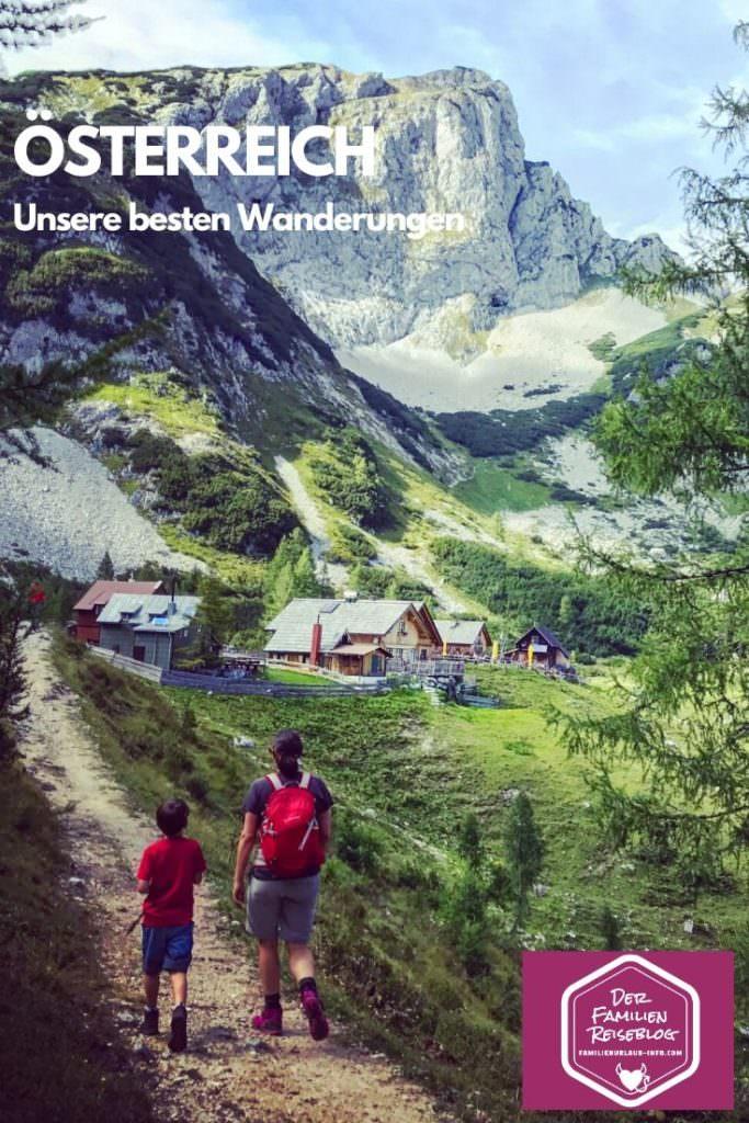 Wandern mit Kindern Österreich - so lieben wir es