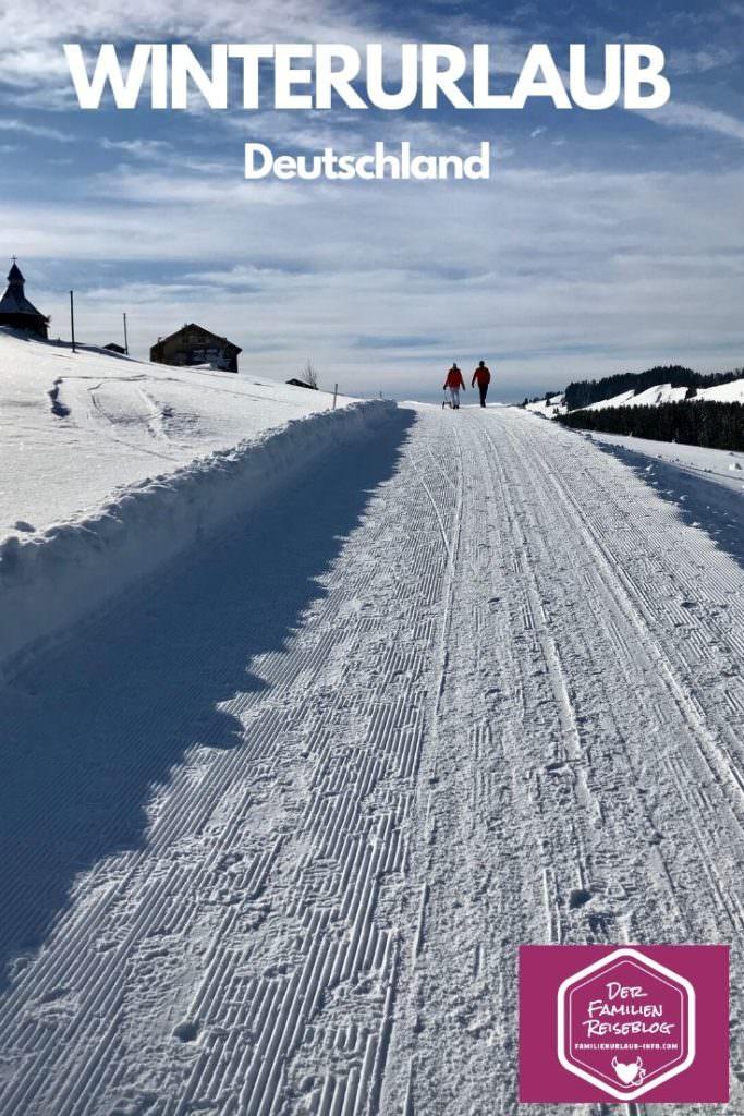 Auch das ist  Allgäu Winterurlaub mit Kindern - winterwandern und rodeln. Die Tipps dazu findest du in diesem Blog