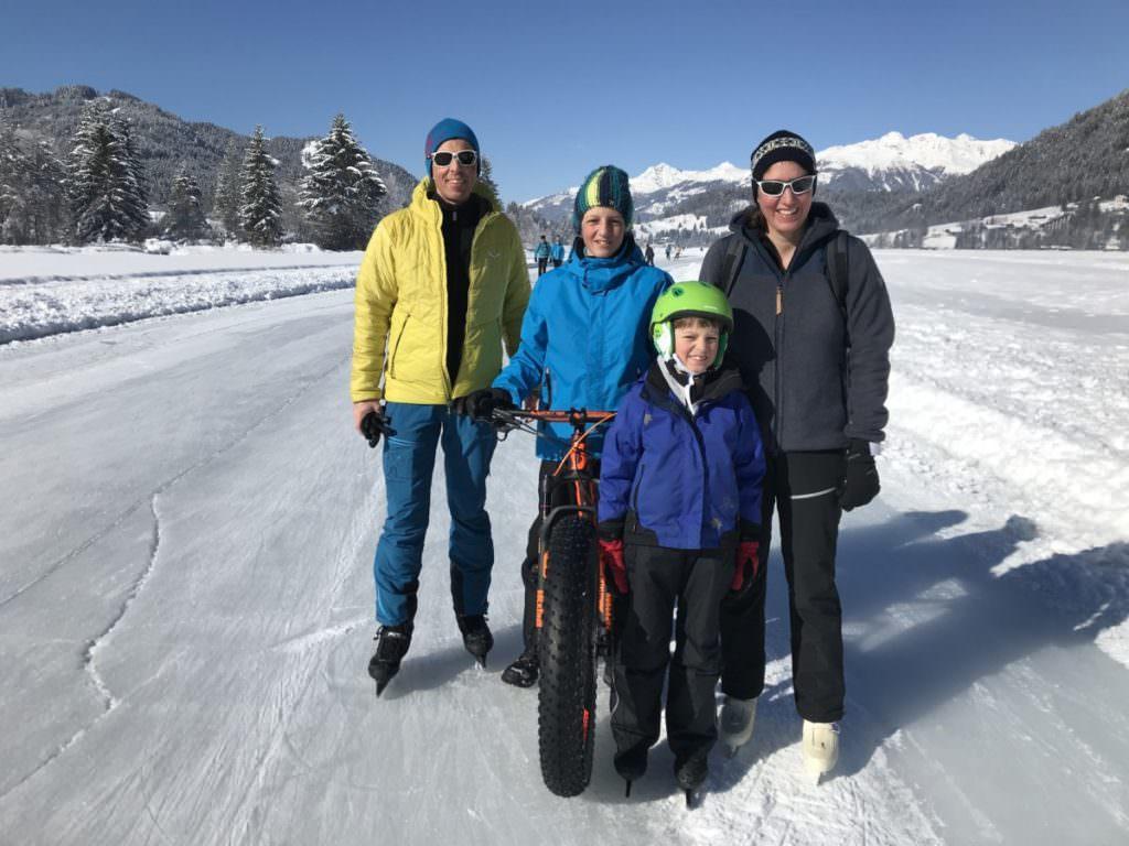Winterurlaub mit Kindern - am Weissensee in Österreich