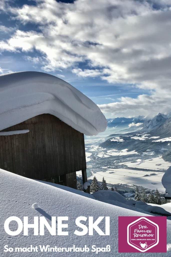 Winterurlaub mit Kindern ohne Ski - merk dir unsere Tipps mit diesem Pin auf Pinterest