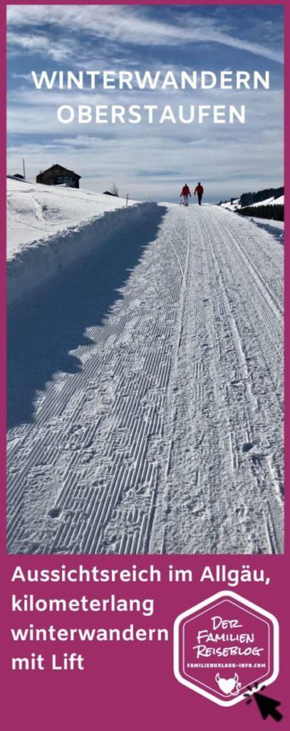 Winterwandern Oberstaufen - Winterurlaub ohne Skifahren macht Spaß!