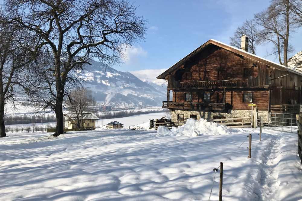 Winterwandern Tirol: Im Zillertal zum größten Wasserfall