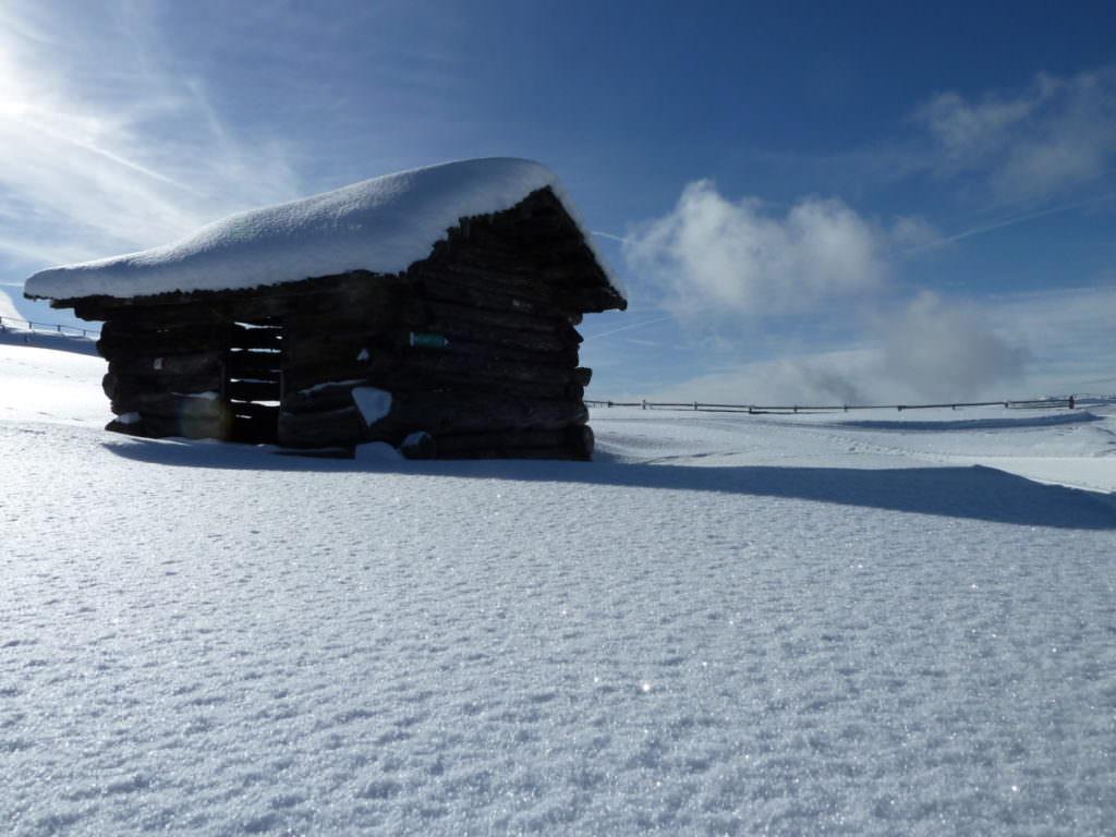 Winterwandern mit Kindern und diese Winterlandschaft geniessen