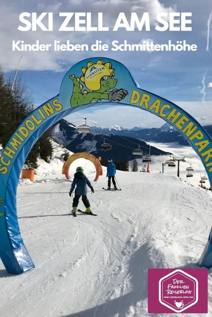 In Zell am See Skifahren mit Kindern Österreich: Der Drachenpark auf der Schmittenhöhe