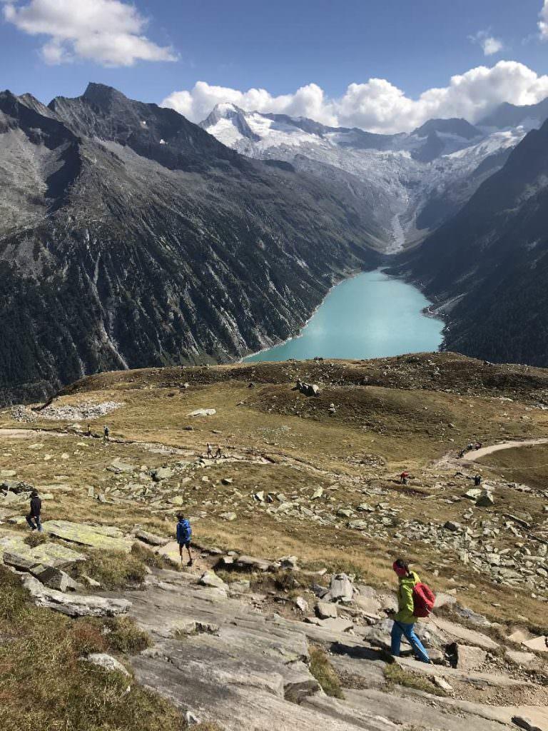Zillertal - Schlegeisspeicher: Toll Wandern mit Kindern in Österreich